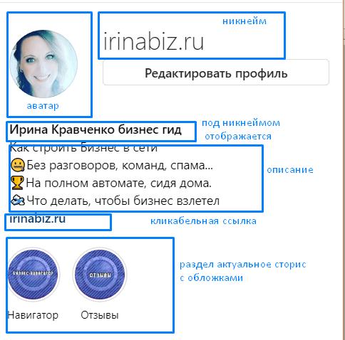 как оформить бизнес профиль в инстаграм