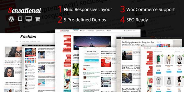 Премиальные темы для блога на WordPress