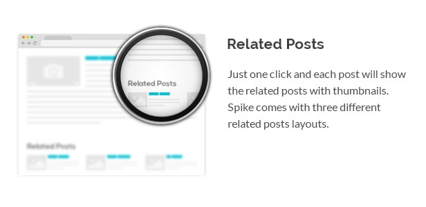 Премиальная тема для блога Спайк